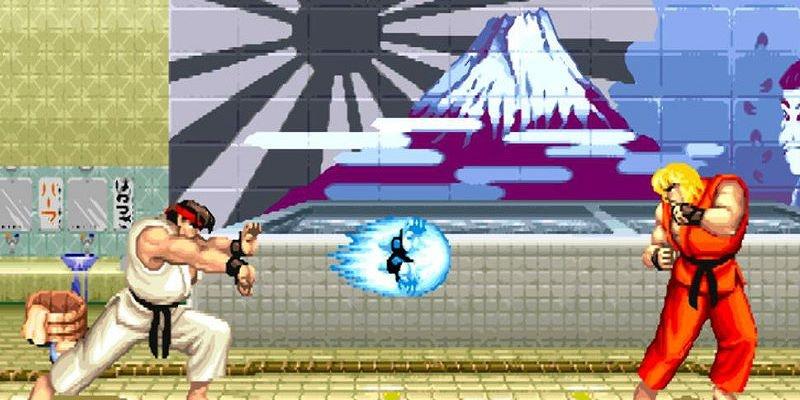 Street Fighter Retro Game