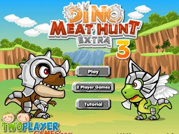 Dino Meat Hunt Extra 3  is now available via Twoplayergames.org!
