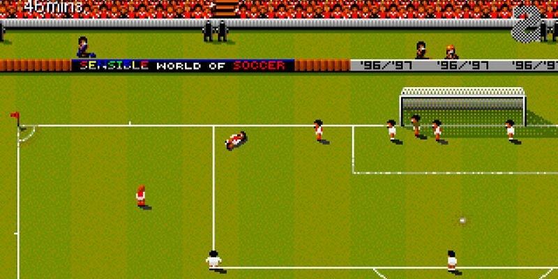 Sensible Soccer Retro Game